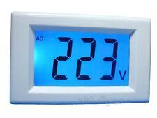AC 80-500V 3½ Blue LCD Digital Voltage Volt Meter 110V 220V Selfpower