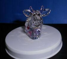 SWAROVSKI  CRYSTAL FIGURINE LOVLOTS LOVE MO COW HEARTS - #5063328