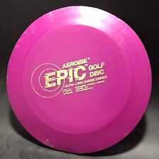 Aerobie Epic Rare PDGA Approved Disc Golf Ultra Long Range Driver