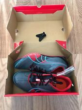 Puma Tfx Sprint 3 Outdoor Track And Field Women's Shoes Grey/Blue/Red Sz 8.5
