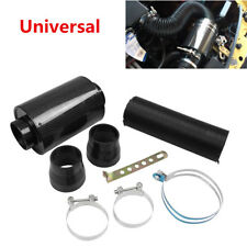 Car Air Filter Box Carbon Fiber Cold Feed Induction Air Intake Kit Without Fan
