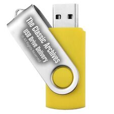 Add 32GB USB Flash Drive to your order, get all on USB stick INSTEAD - NO DISKS!