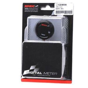 KOSO Digital Water Coolant Temperature Sender kit MOTORCYCLE / PROJECT BA067R10