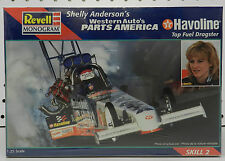 MONOGRAM SHELLY ANDERSON HAVOLINE TOP FUEL DRAGSTER SLOT CAR REVELL MODEL KIT