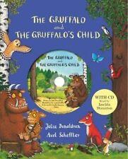 The Gruffalo & Gruffalos Child 2 Books Set With CD Collection Julia Donaldson HB