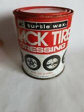 VINTAGE TURTLE WAX BLACK TIRE DRESSING (NOS) -FREE SHIPPING-