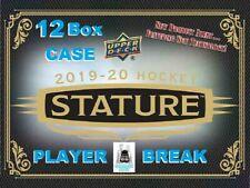 Elias Pettersson 2019-20 Upper Deck STATURE 12 Box Case Break Vancouver Canucks