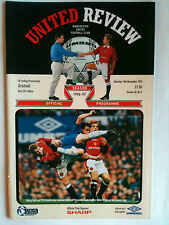 MINT 1996/97 Manchester United v Arsenal Premier League