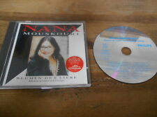 CD Pop Nana Mouskouri - Blumen der Liebe/D größten Erfolge (16 Song) PHILIPS jc