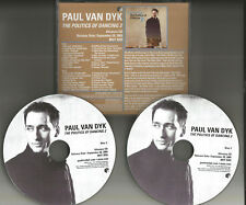 PAUL VAN DYK Politics of Dancing 2 RARE ADVNCE PICTURE DISC PROMO 2 CD solange