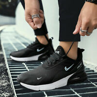 Men's Air Cushion 270 Flyknit Athletic Sneakers Casual Sports Running Mesh Shoes