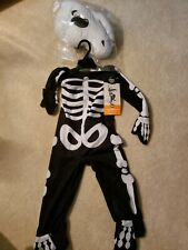 Toddler T-Rex Skeleton Halloween Costume size 18-24 months