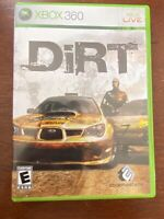 DiRT (Microsoft Xbox 360 , 2007) Tested Complete With Manual