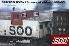 ALL SOO Line DVD-1 hour 55 min of SOO Video-Upper Midwest-1988-1994 LOWER PRICE!