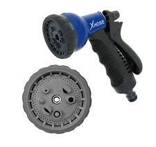 Garden XHose Spray Gun Nozzle 8 Speed Mode Connects To Standard Garden Hose Pipe