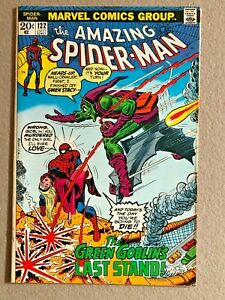 AMAZING SPIDER-MAN # 122 DEATH OF GREEN GOBLIN Original Owner Collection GLOSSY