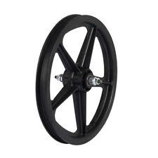 """Skyway Tuff II 16"""" BMX Bike Front Wheel 5 Spoke Bolt 16 X 1.75 Black 3/8"""""""