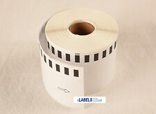 Brother DK2205 White Continuous Label QL 500 550 570 580N 650TD Printer -6 Rolls