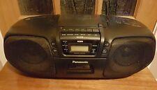 Panasonic RX-DS25 stéréo portable cd système cassette lecteur radio boombox