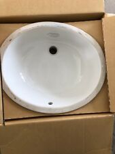 KOHLER Bath Sink Caxton Undercounter Bathroom White Durable Vitreous K-2210-0