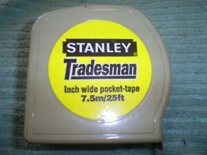STANLEY TRADESMAN 7.5 METRE MEASURING TAPE