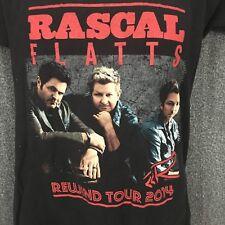 Rascal Flatts Rewind Tour 2014 Concert T-shirt Men's S Short Sleeve Graphic S