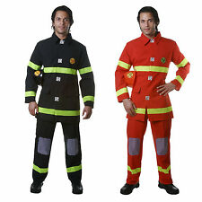 Dress Up America Adult Fire Fighter Costume