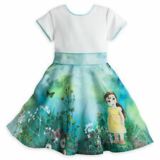 Disney Store Animators' Collection Dress for Girls - Belle Size 5/6