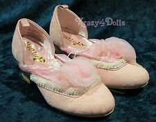 Disney Sleeping Beauty Aurora Deluxe Costume Girls Shoes Size 2-3 NEW w/Tags!