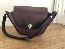 Zimmermann Leather Satchel Bag Mulberry Colour