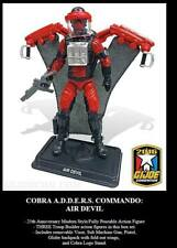 G.I.JOE EXCLUSIVE CONVENTION 2016: AIR DEVIL - COBRA A.D.D.E.R.S. COMMANDO