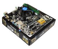 Intel Core I5 7500 Quad Core 3.8GHz CPU Asus H110M-PLUS Motherboard DDR4