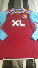 West Ham football shirt long sleeves
