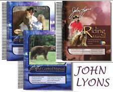 John Lyons' Riding Manual & 4 DVDs + Ground Control Manuals # 1 & 2 - BRAND NEW