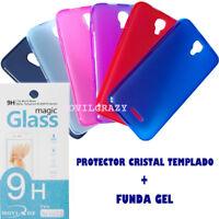 """FUNDA GEL Y PROTECTOR PANTALLA PARA ALCATEL ONE TOUCH PIXI 4 5.0"""" 3G TRANSLUCIDA"""