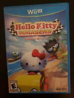 Hello Kitty Kruisers w Sanrio Friends Nintendo Wii U Complete DISC NOT WORKING!