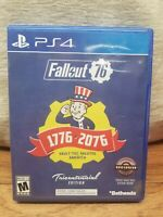 Fallout 76 Tricentennial Edition PlayStation 4 PS4