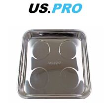 """US PRO Jumbo Magnetic Stainless Steel Parts Tray 10.5 x 11.5"""" 6784"""
