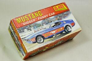 "Vintage Jo-Han Model Kit  MUSTANG ""DIGGER"" Funny Car  1/25 scale GC-2100"