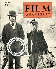 McCabe and Mrs. Miller cover 1971 FILM QUARTERLY magazine w/Pix & articles, etc.