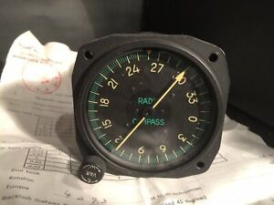 F86 Sabre Jet Radio Compass Gauge Type ID_91B/AR N6
