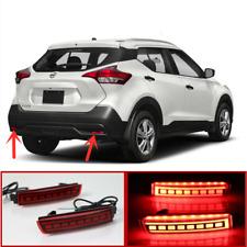 For Nissan Kicks 2017-2020 LED Rear Fog Light Tail Bumper Light Sets
