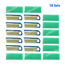 10x Air Filter Set For Briggs Stratton 697153 795115 697014 697634 698083 797008