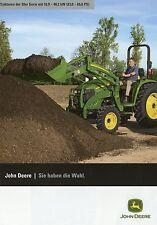 John Deere Traktoren 20er Serie Prospekt 2010 6/10 Traktor Trecker brochure