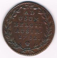 2 Oord-Liard  1782   Jozef II  Austrian Netherlands    Brussel