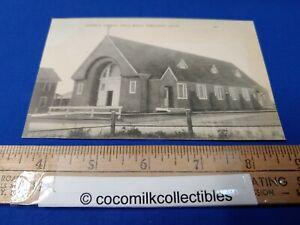 Postcard 1940s Catholic Church Well Beach Webhannet Maine Black White View
