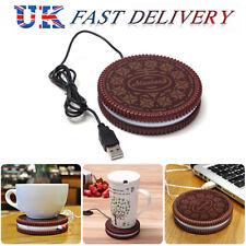 Cookie USB Heat Warmer Cup Pad Heater Milk Tea Coffee Mug Hot Drinks Beverage