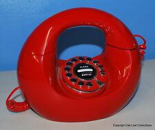 RETRO RED HANDBAG PHONE by Polyconcept Hong Kong Ltd Works!