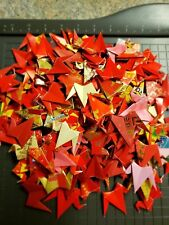 **100** Chinese Red  Lucky Envelope Handmade Wedding Paper Origami Cranes