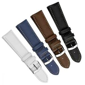 WatchGecko Castagno Premium Vegan Eco-Leather Padded Watch Strap